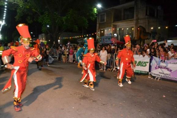 En fotos: la celebración del Carnaval de Unquillo 11