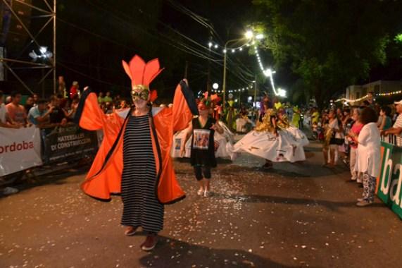 En fotos: la celebración del Carnaval de Unquillo 13