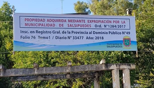 La Municipalidad de Salsipuedes hizo pública la situación jurídica del ex hotel Supeh 1