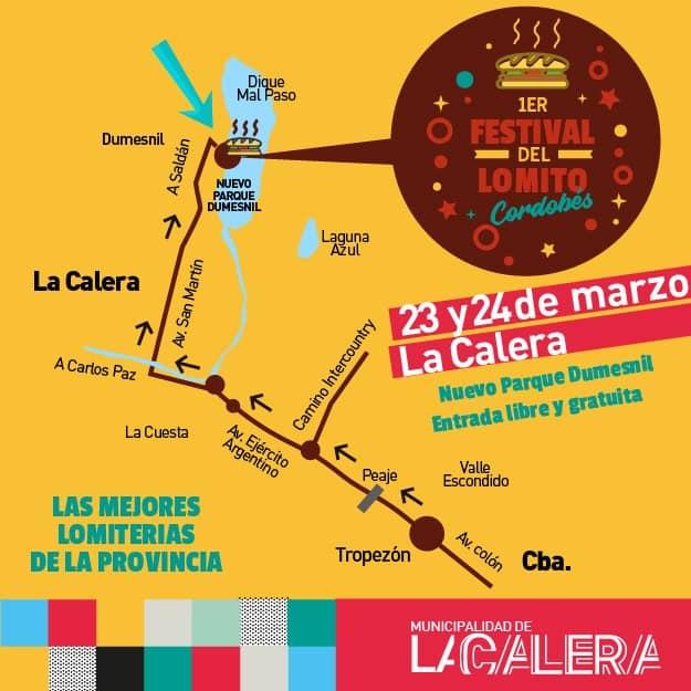 ¡Ahora sí! Hay Festival del Lomito cordobés en La Calera 2