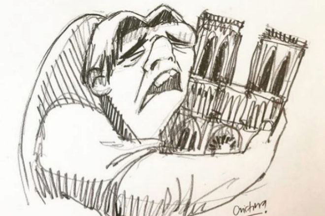 ¿Disney predijo el incendio de la catedral de Notre Dame?