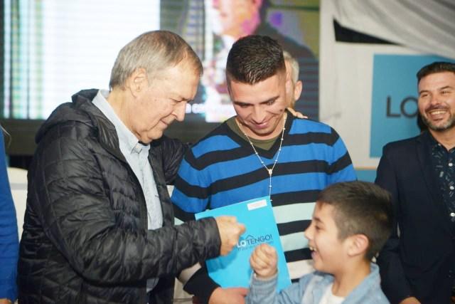 Certificados de adjudicación para 228 familias de La Calera 3