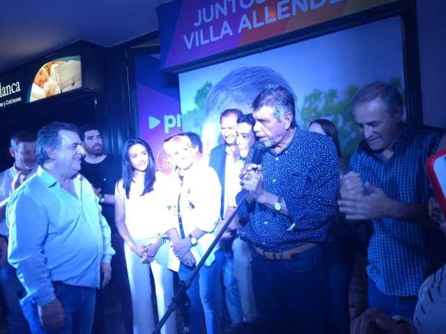 """Villa Allende volvió a elegir a """"El Gato"""" Romero 2"""