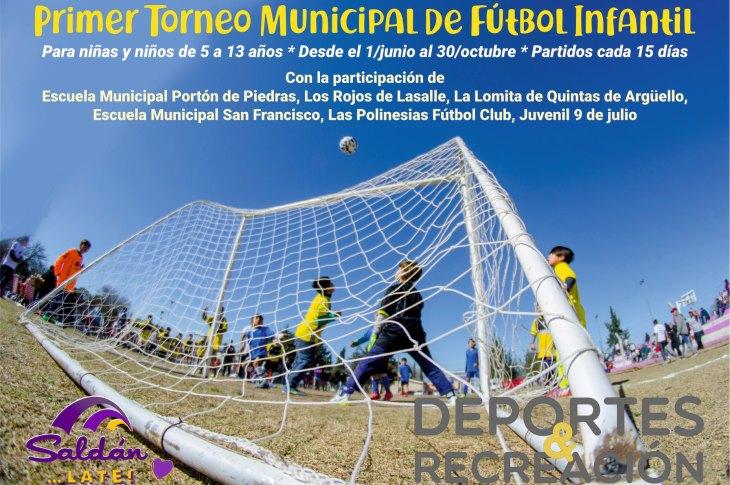 Primer Torneo de Fútbol Infantil en Saldán 6