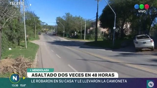 Mendiolaza: sufrió dos robos en menos de 48 horas