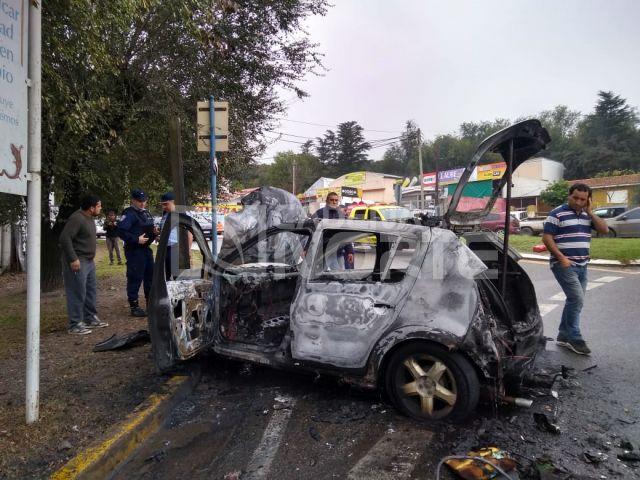Choque inédito en Río Ceballos (fotos) 3