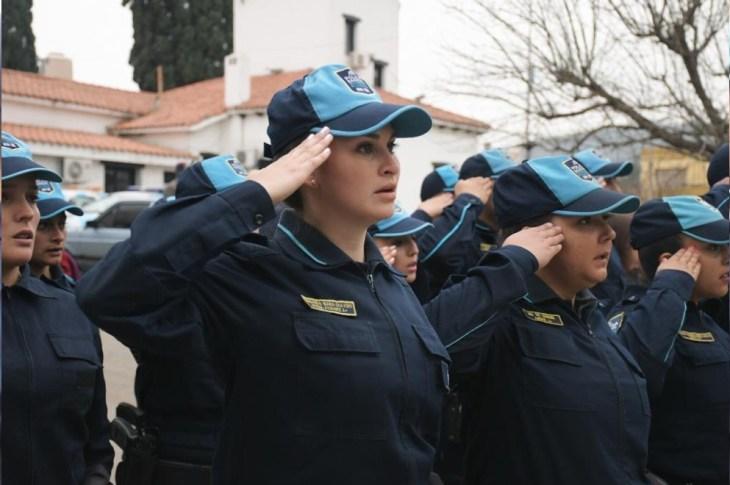 La Policía Barrial ya recorre las calles de La Calera 6