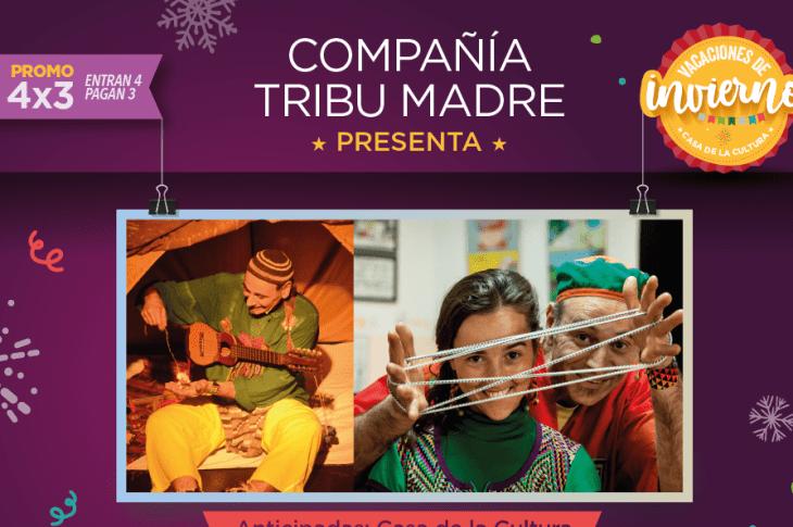Compañía Tribu Madre presenta: De dónde salió la música 3