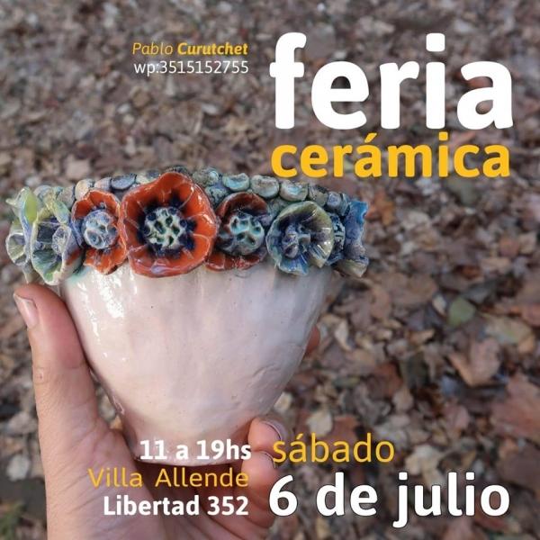 Villa Allende: feria de cerámica moderada por Pablo Curutchet 2