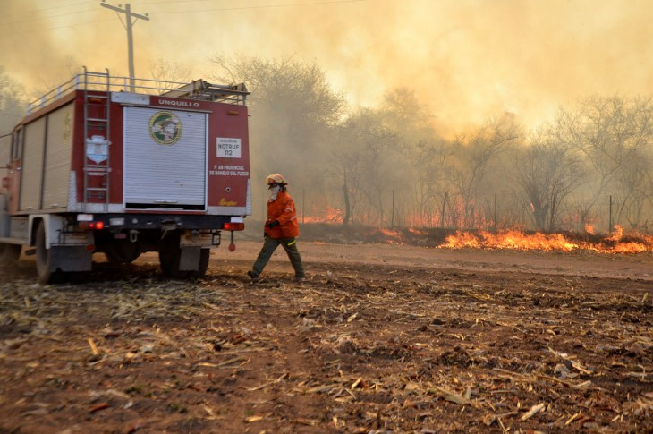 Inminente partida de bomberos cordobeses a la Amazonia 6