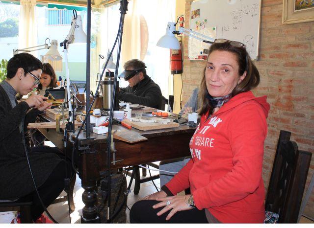 Cristina Tomas y el placer de crear arte 3