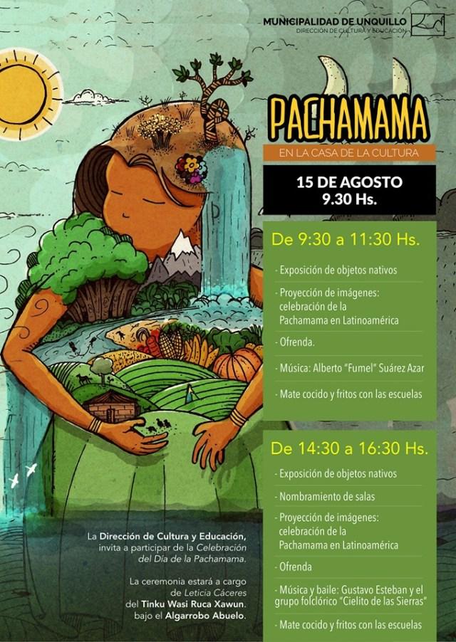 Invitan a homenajear a la Pachamama en Unquillo 2