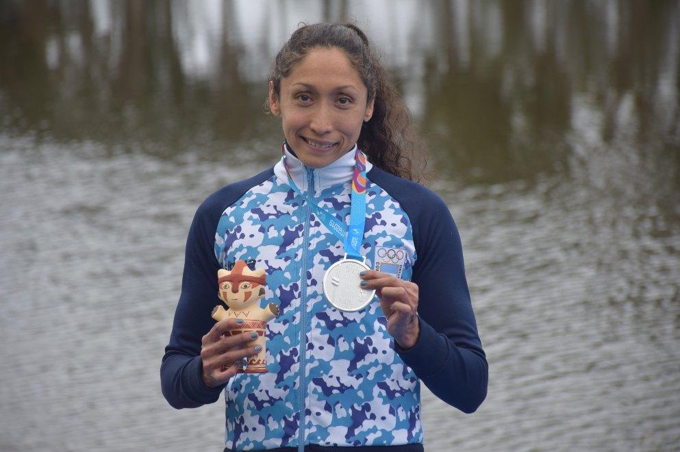 Lima 2019: plata panamericana para Cecilia Biagioli en Aguas Abiertas |  Noticias de Sierras Chicas