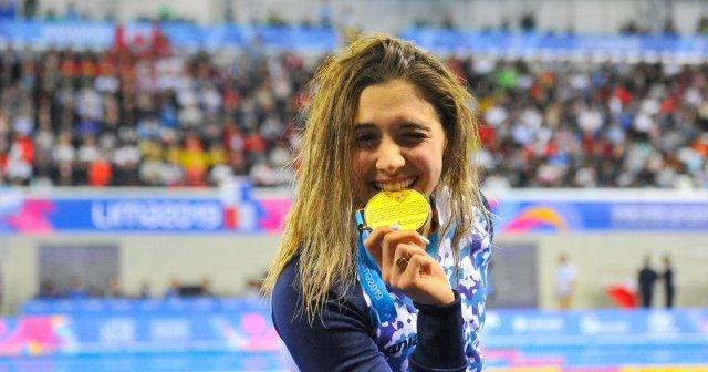 Delfina Pignatiello, la joven promesa argentina que hoy va por el oro nuevamente 1