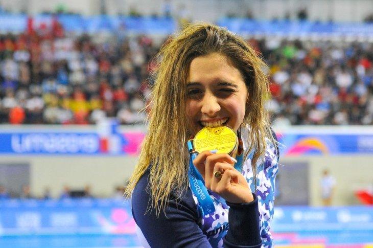 Delfina Pignatiello, la joven promesa argentina que hoy va por el oro nuevamente 4