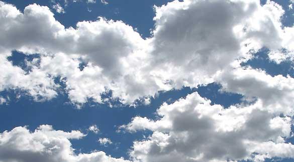 Viernes parcialmente nublado 2