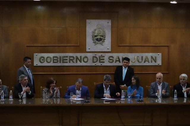 Córdoba y San Juan firmaron convenio turístico de colaboración recíproca 2