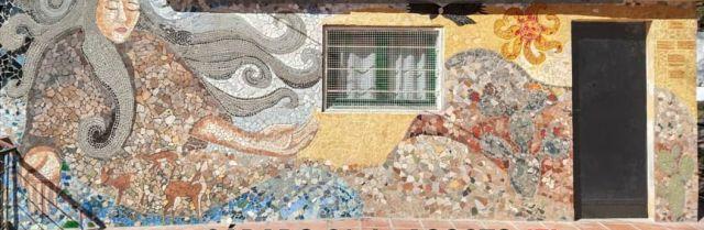Inauguraron mural sobre la Pachamama en Salsipuedes 2