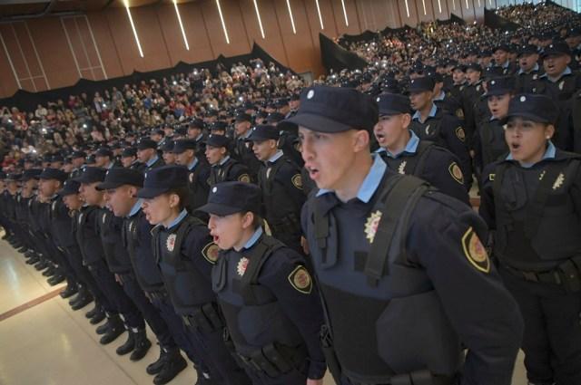 Córdoba alcanza el número recomendado de policías según población 8