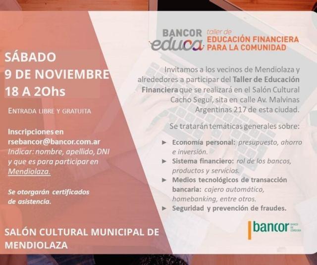 Taller de educación financiera en Mendiolaza 4