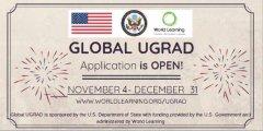 منحة برنامج Global UGRAD لدراسة فصل دراسي في الولايات المتحدة 2020 (ممول بالكامل)