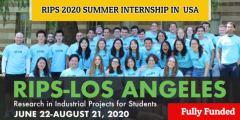 التدريب الصيفي في جامعة كاليفورنيا لوس أنجلوس RIPS في الولايات المتحدة (ممول بالكامل)