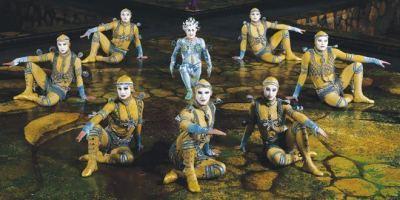 Cirque Du Soleil vuelve a Madrid en el Escenario Puerta del Ángel.