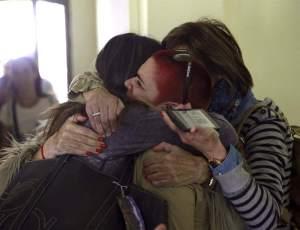 Los viajeros llegaron esta mañana a Madrid. Foto: EFE