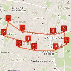 10 pasos para conocer Madrid