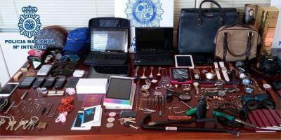 Desarticulado un clan que robaba en domicilios de Madrid y otras ciudades.