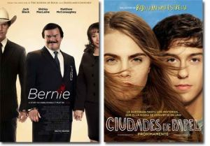 EsStrenos de cine. 'Bernie' y 'Ciudades de papel'.
