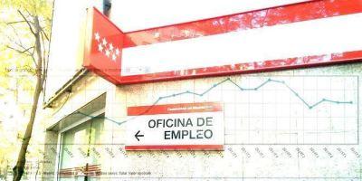 Aumenta el paro en agosto en Madrid.