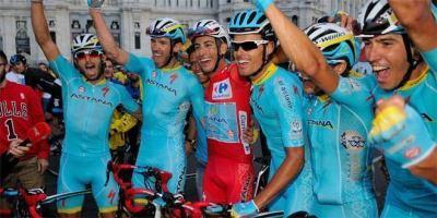 Fabio Aru se hace con la Vuelta.