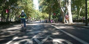 Ciclovía Paseo del Prado