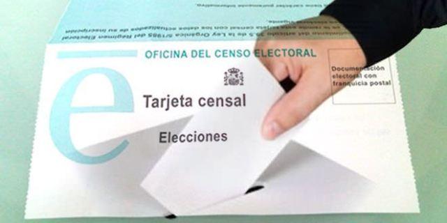 Censo elecciones