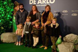 La familia Goyanes no quiso perderse la presentación de la película. Foto: Carlos Bouza.