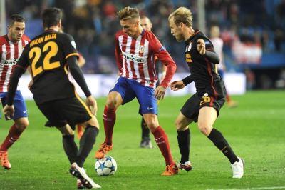 Fernando Torres,en un momento del partido. Foto: Carlos Bouza