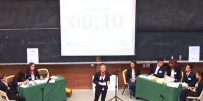 Los jóvenes oradores madrileños tienen premio.