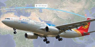 Segundo vuelo directo desde Madrid a una ciudad china.
