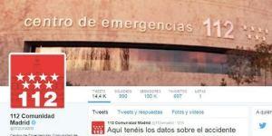 Emergencias madrid twitter