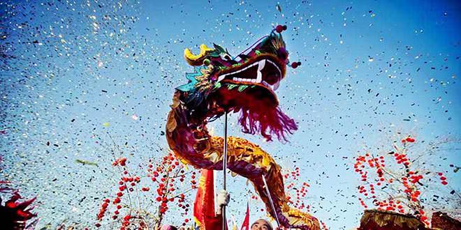 Año Nuevo Chino dragón