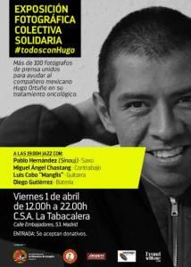 Cartel Exposición #todosconHugo