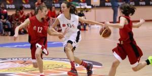 Minibasket femenino. Foto: Federación Española de Baloncesto