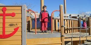 Parque infantil en Madrid