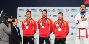 El karate madrileño triunfa con la selección española en el Europeo de Francia