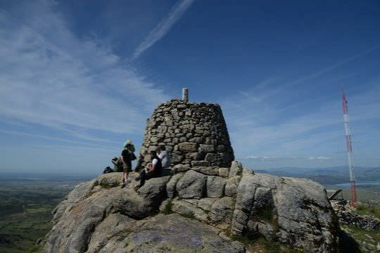 Piedras en la cumbre del Cerro de San Pedro