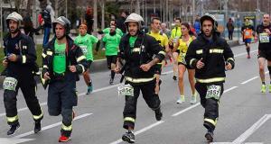 Carrera Bomberos Madrid 2017. Foto: Cortesía Bomberos de Madrid