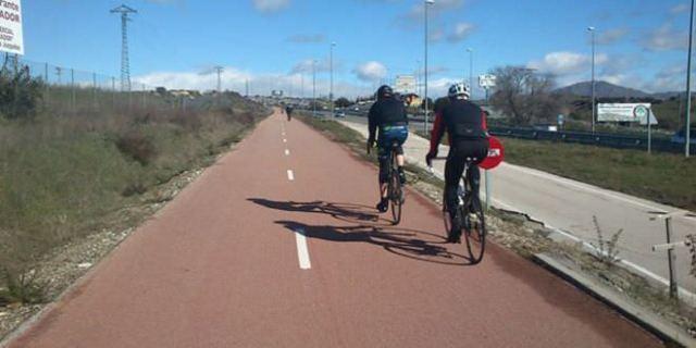 Carril bici de Colmenar Viejo