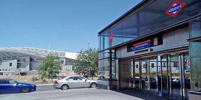 Estación de Metro Estadio Metropolitano