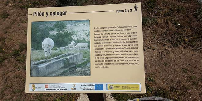 cartel ruta Cancho Litero